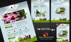 projet webdesign trillaud paysages